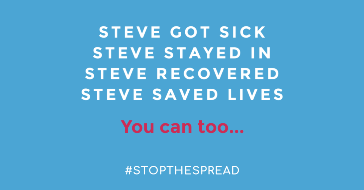 Steve saved lives.